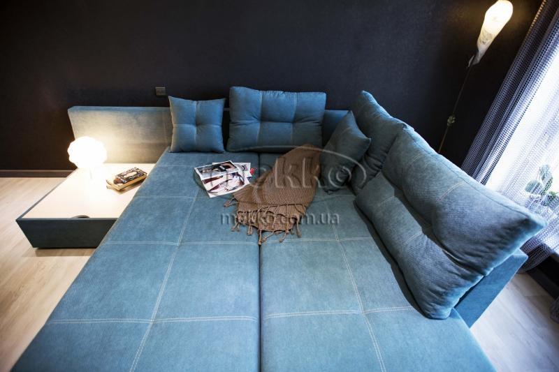 Кутовий диван з поворотним механізмом (Mercury) Меркурій ф-ка Мекко (Ортопедичний) - 3000*2150мм  Броди-3