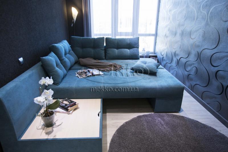 Кутовий диван з поворотним механізмом (Mercury) Меркурій ф-ка Мекко (Ортопедичний) - 3000*2150мм  Броди-4