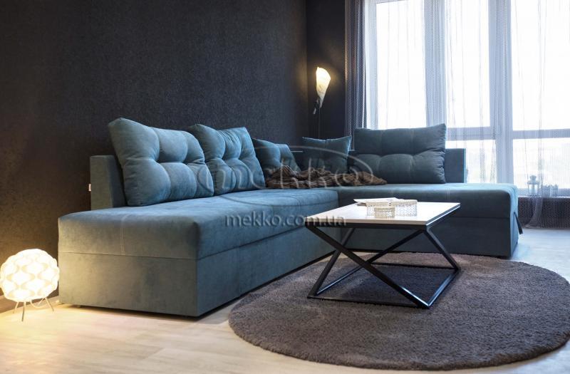 Кутовий диван з поворотним механізмом (Mercury) Меркурій ф-ка Мекко (Ортопедичний) - 3000*2150мм  Броди