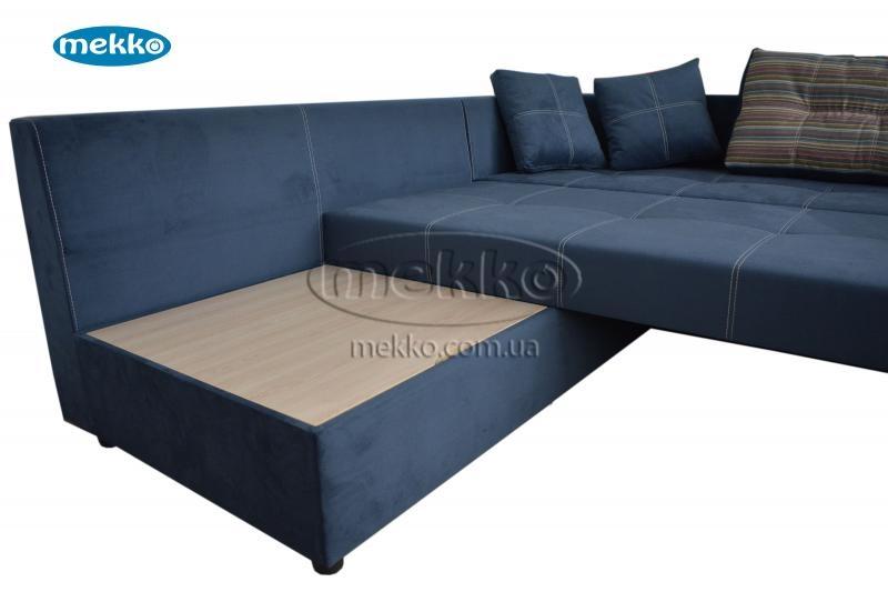 Кутовий диван з поворотним механізмом (Mercury) Меркурій ф-ка Мекко (Ортопедичний) - 3000*2150мм  Броди-17