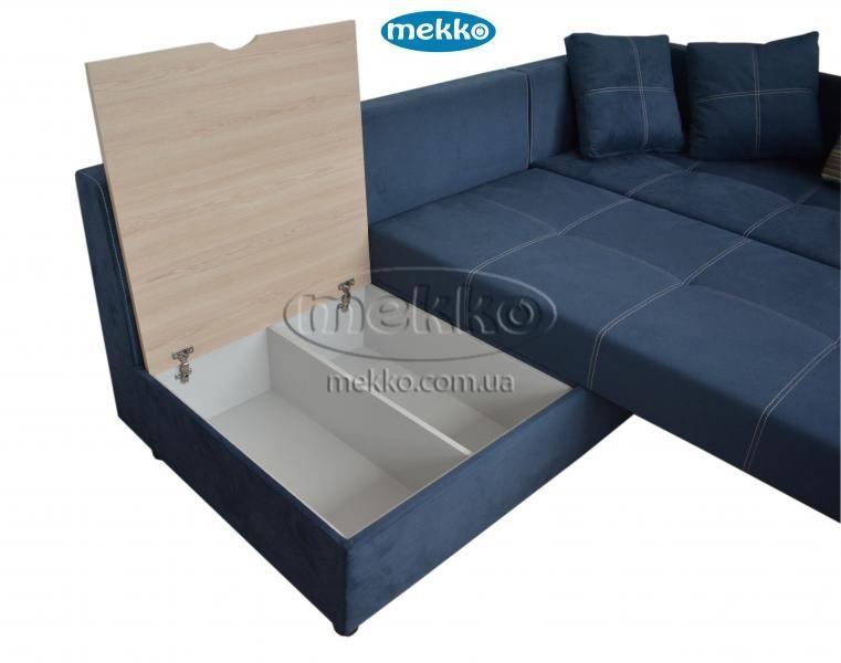 Кутовий диван з поворотним механізмом (Mercury) Меркурій ф-ка Мекко (Ортопедичний) - 3000*2150мм  Броди-18