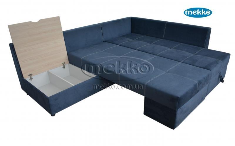 Кутовий диван з поворотним механізмом (Mercury) Меркурій ф-ка Мекко (Ортопедичний) - 3000*2150мм  Броди-19