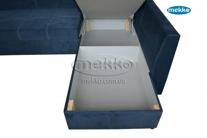 Кутовий диван з поворотним механізмом (Mercury) Меркурій ф-ка Мекко (Ортопедичний) - 3000*2150мм  Броди-20