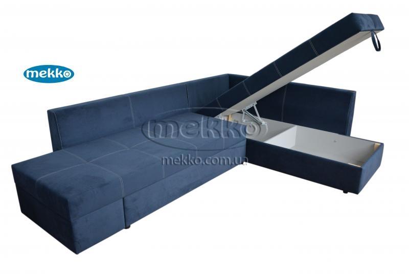 Кутовий диван з поворотним механізмом (Mercury) Меркурій ф-ка Мекко (Ортопедичний) - 3000*2150мм  Броди-14