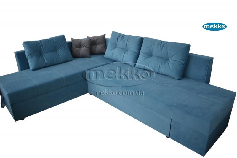 Кутовий диван з поворотним механізмом (Mercury) Меркурій ф-ка Мекко (Ортопедичний) - 3000*2150мм  Броди-10