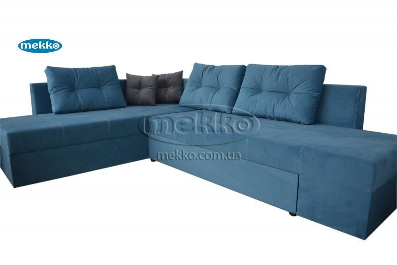 Кутовий диван з поворотним механізмом (Mercury) Меркурій ф-ка Мекко (Ортопедичний) - 3000*2150мм  Броди-11