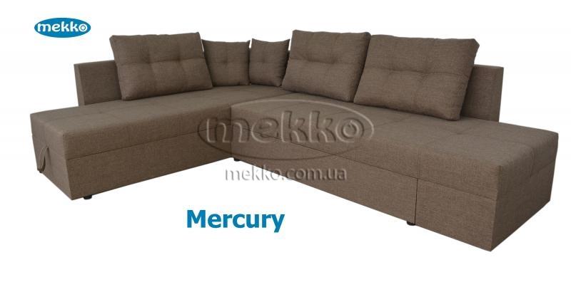 Кутовий диван з поворотним механізмом (Mercury) Меркурій ф-ка Мекко (Ортопедичний) - 3000*2150мм  Броди-12